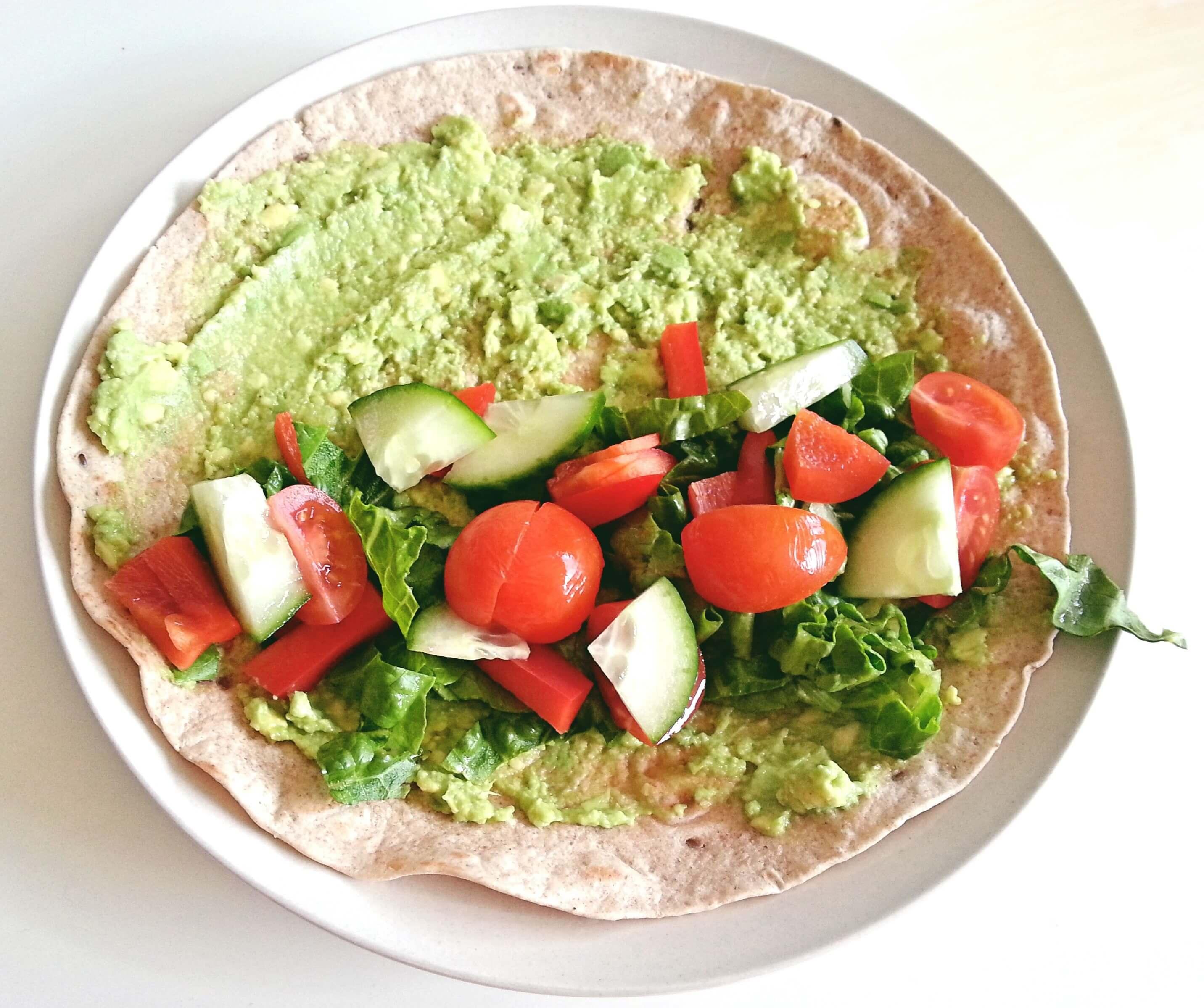 schnelle wraps mit avocado gem se my vegan life. Black Bedroom Furniture Sets. Home Design Ideas