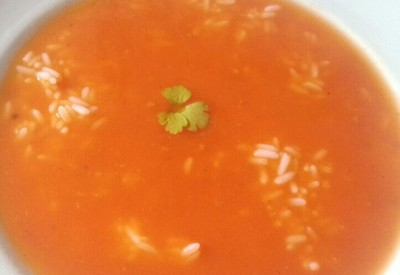 Pikante Tomatensuppe