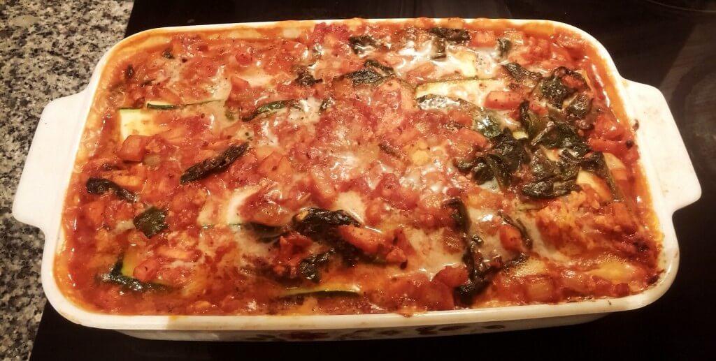 vegane-lasagne-zucchini-spinat-tofu-hack